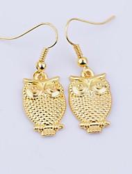 HIWU® Mini Vintage Owl Earrings (1 Pair)