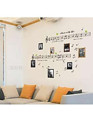 Wall Stickers Wall Decals, Style Wonderful Notes PVC Wall Stickers