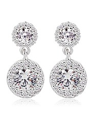 New Top Quality Swiss CZ Earrings Elaborate Wedding Drop Earrings For Women