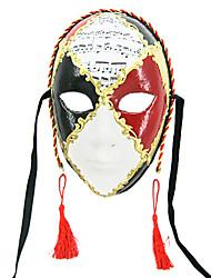 música handmade polpa carnaval pontuação máscara