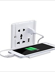 Kreativ Handy-Lade Unterstützung verdoppeln usb multifunktionale zwei oder drei einge