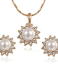 Jewelry-Necklaces / Earrings(Crystal / Imitation Pearl)Wedding / Party / Casual Wedding Gifts