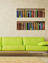 3D The Book Wall Stickers Wall Decals