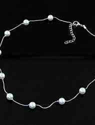 Women's Fashion Temperament Pearl Necklace