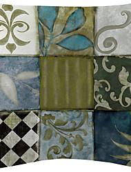 Set of 2 Magnificent Totem Velvet Decorative Pillow Cover