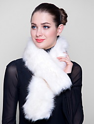 Fur Wraps Special Occasion Faux Fox Fur Wraps(More Colors)