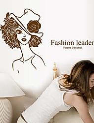 decalques de parede adesivos de parede, parede de moda beleza líder pvc adesivos