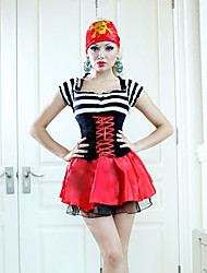 Super Sexy Halloween Costume Pirate pour femmes (2Pieces)