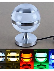 3w LED Ball tables lampes de table lampe de mini-bar acrylique chevet lampes de bureau