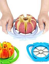 schnitt den Apfel Gerät, Edelstahl 17 × 14,5 × 3 cm (6,7 × 5,8 × 1,2 Zoll) zufällige Farbe