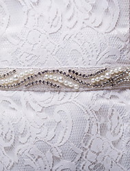 Satin / Satin/ Tulle Wedding / Party/ Evening / Dailywear Sash Women's 98 ½in(250cm)