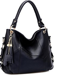 Women's New Fashion Faux Leather Totes Shoulder Bags Handbag