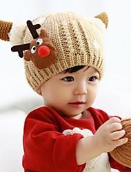Рождество создана с бархатными дети вязаная шапка шляпа (ассорти цветов)