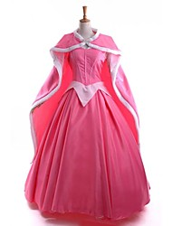 Sleeping Beauty Princess Aurora Dress + Cloak Cosplay Costume