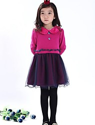 nouvelles robes de fil des filets de la mode des filles