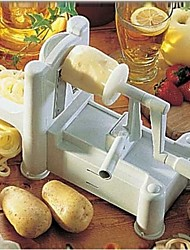 "A Hand-Operated Shredder Three In One Vegetable Grinder Shredding And Slicing Machine Plastic  11.6""*5.7'*8.6"""
