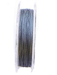 20M / 20 Yards PE Braided Line / Dyneema / Superline / Fly Line Fishing Line Dark Gray 15LB 0.14 mm ForSea Fishing / Fly Fishing / Bait