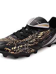 Zapatos Fútbol Semicuero Negro Mujer / Hombre