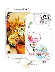 personalisierte anime Abbildungen Design Plastiktelefonkasten für Samsung-s4