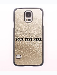 Personalized Phone Case - Grey Water Design Metal Case for Samsung Galaxy S5 mini