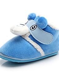 bgobbworld qiu Dong Verdickung Korallen Fleece Baby Baumwolle Schuhe weichen Boden Stiefel