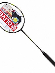 Black+Yellow Carbon Fiber Offensive Badminton Rackets Bi ACE ENERGY