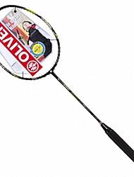 Black+Yellow Carbon Fiber Offensive Badminton Rackets Bi ACE ENERGY