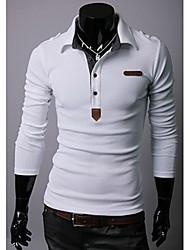 cuello solapa camiseta ocasional de los hombres PlayGame