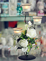 Fashion Household Rose Candle Holder