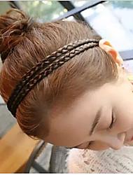 Lovely Sago Flax Flower Plait Hair Band(1pcs)