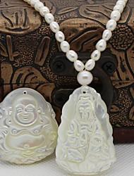 Корейский моды специальные просо бисера ожерелье с Буддой