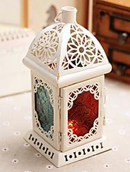 European Style Colorful Quadrangle Candle Holder