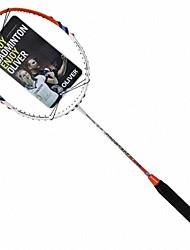 Orange Vollcarbon sowohl Angriff und Verteidigung Badmintonschläger Fortschritte 6000