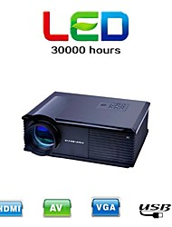HD LCD Home Theater Business Projector 120inch 2800lm 800x600 with HDMI VGA TV AV USB(PH500)