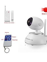 HOSAFE™ 1.0 Megapixel HD Alarm Wireless IP Camera with Smart Control and Wireless Door Contact