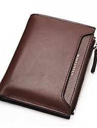 Топ кожаный бумажник держатели bostanten мужские многофункциональный молнии cardbag связующее карта позиции ID
