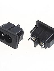 DIY 2-контактный розетка 5A / 250V мощность (2шт)