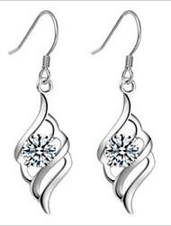 bijoux boucle d'oreille en argent sterling 925 stud une paire de femmes