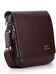 Men's Pu Handbag Messenger Shoulder Briefcase Laptop Bag Purse