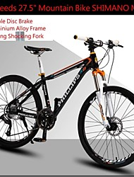 "27 Speeds 27.5"" Mountain Bike PH™ SHIMANO M370 Disc Brake Shocking Locking Fork Aluminium Alloy Frame"