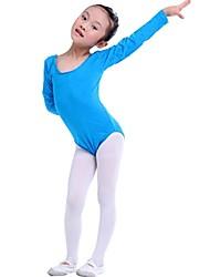 la moda de manga larga de algodón desgaste de la danza del mono general de chica