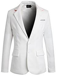 nuevo diseño de bolsillo de múltiples delgado traje de los hombres