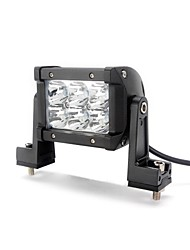 dy-sc8018 18w 1530lm 6000K 6-CREE LED Weißlichtpunktstrahl Geländelampe (10-30 V DC, schwarz)