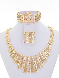Fashion Women Cute/Party/Work Gold Alloy Jewelry Set