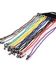 12pcs cadena de gafas de metal
