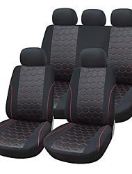 9 parti / seggiolino auto copre set materiale in forma universale materiale jacquard con compositi 3 millimetri accessori spugna auto