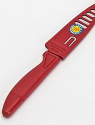 couteau d'office, en plastique + métal 20 × 3 × 4 cm (7,9 × 1,2 × 1,6 pouces)