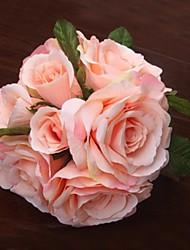 rose élégant mariage frais bouquets de mariée (plus de couleurs)