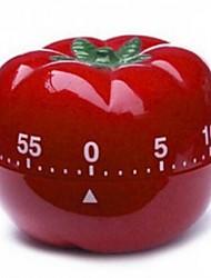 Tomaten Form Timer, Kunststoff 15 × 18 × 1,3 cm (6,0 x 7,1 x 0,6 Zoll)