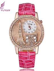 Women Fashion Rhinestone Casual Dress Watch Bracelet Ladies Watch(Assorted Colors) Cool Watches Unique Watches
